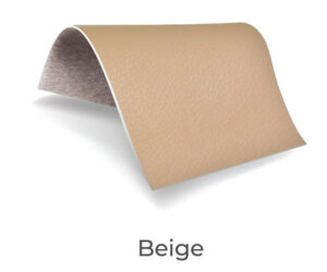 Beige color upholstery