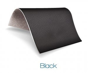 Black color upholstery