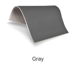 Gray color upholstery