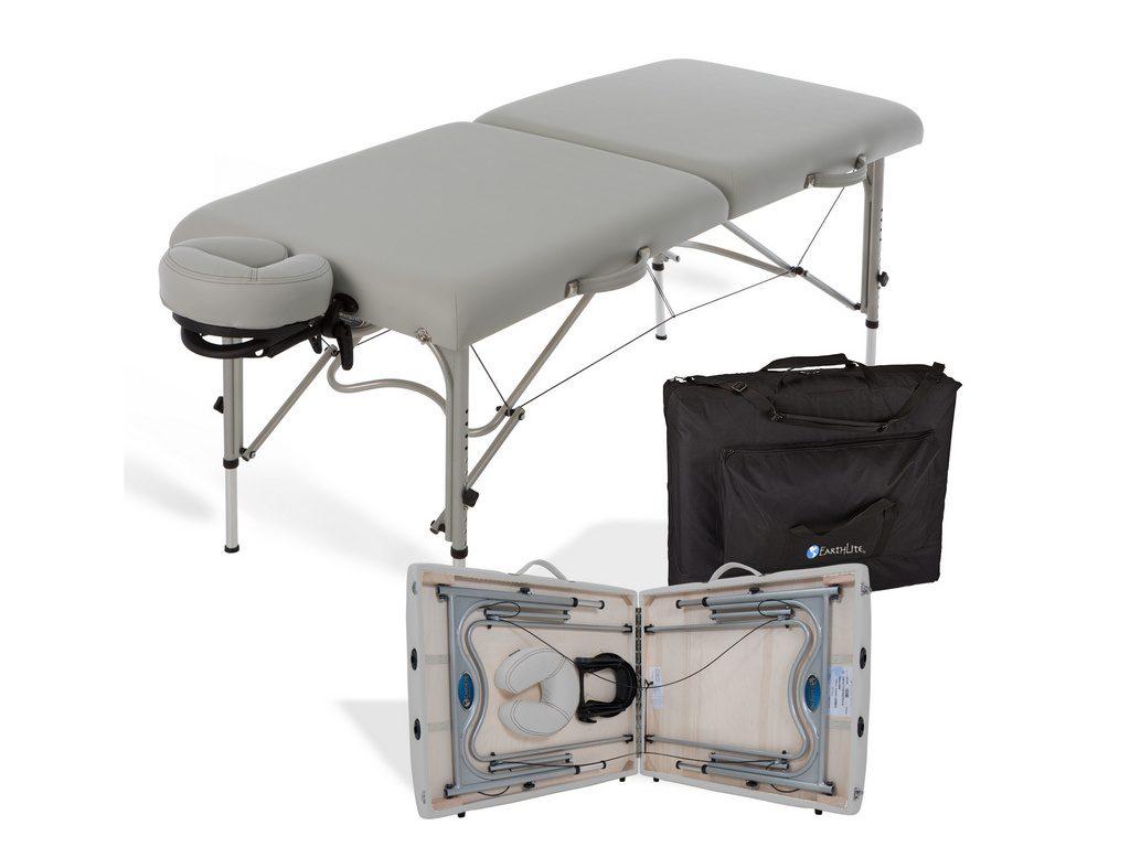 Κρεβάτι μασάζ Luna sterling βαλίτσα με θήκη μεταφοράς