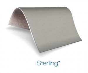 Sterling color upholstery