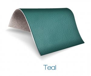 Teal color upholstery